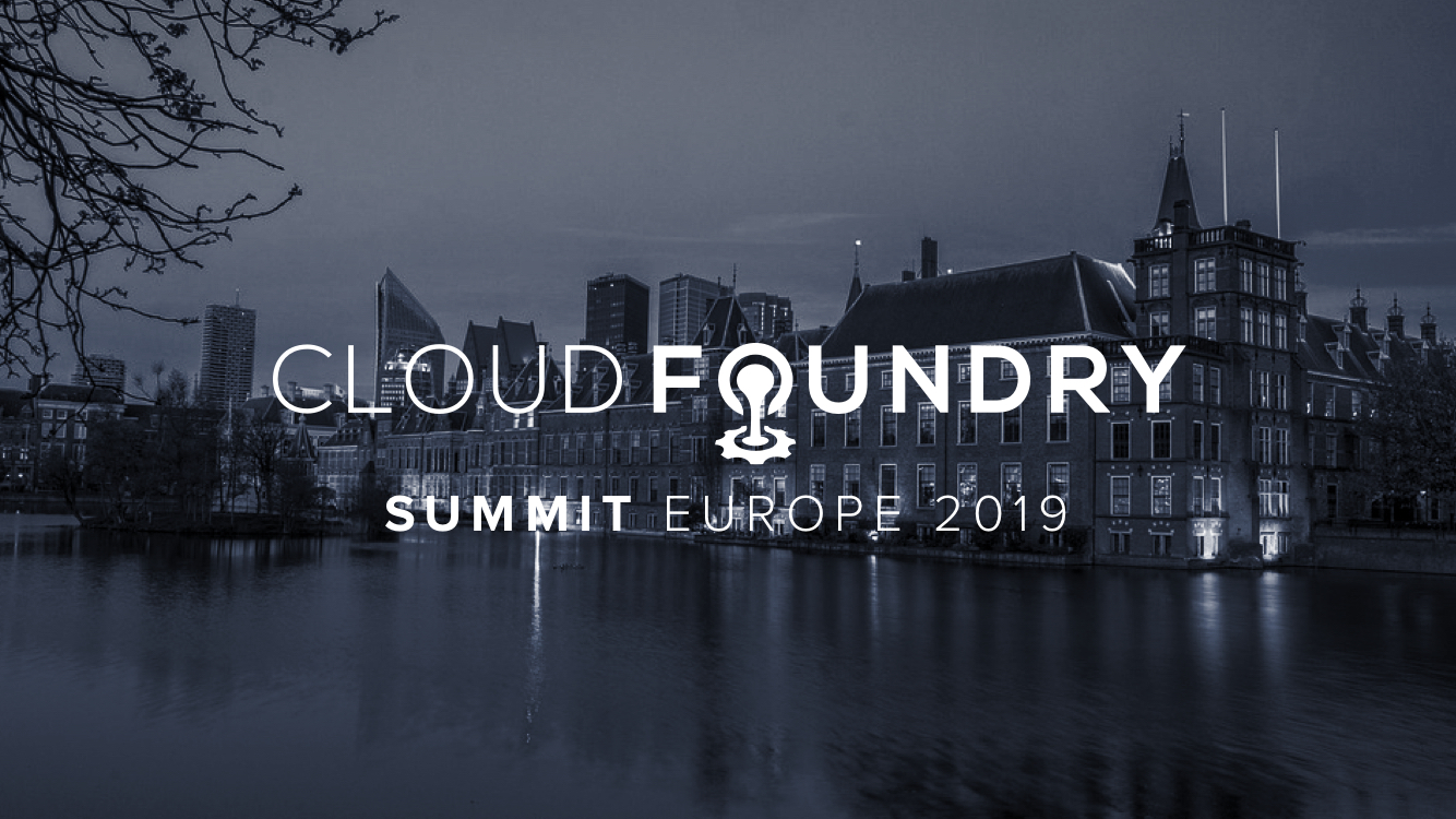 Cloud Foundry Summit Europe 2019